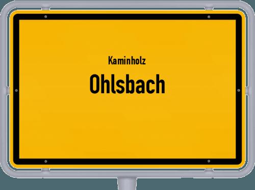 Kaminholz & Brennholz-Angebote in Ohlsbach, Großes Bild