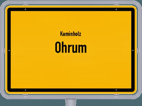 Kaminholz & Brennholz-Angebote in Ohrum, Großes Bild