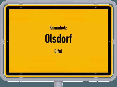 Kaminholz & Brennholz-Angebote in Olsdorf (Eifel), Großes Bild