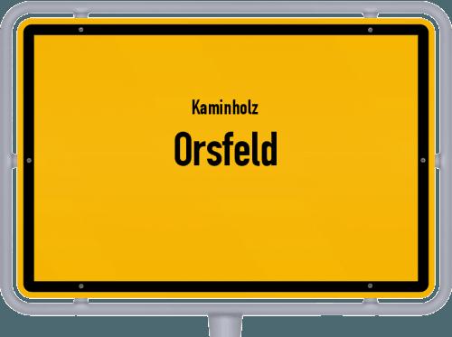 Kaminholz & Brennholz-Angebote in Orsfeld, Großes Bild