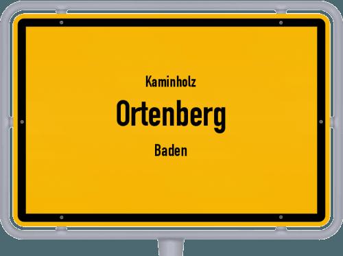 Kaminholz & Brennholz-Angebote in Ortenberg (Baden), Großes Bild