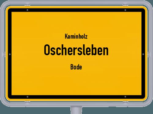 Kaminholz & Brennholz-Angebote in Oschersleben (Bode), Großes Bild