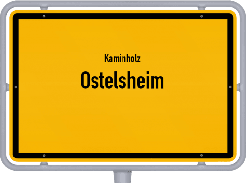 Kaminholz & Brennholz-Angebote in Ostelsheim, Großes Bild