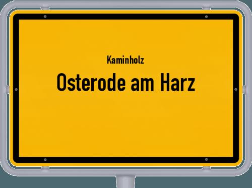 Kaminholz & Brennholz-Angebote in Osterode am Harz, Großes Bild