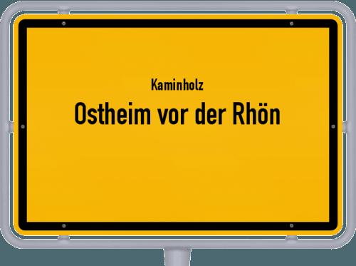 Kaminholz & Brennholz-Angebote in Ostheim vor der Rhön, Großes Bild