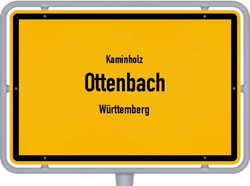 Kaminholz & Brennholz-Angebote in Ottenbach (Württemberg), Großes Bild
