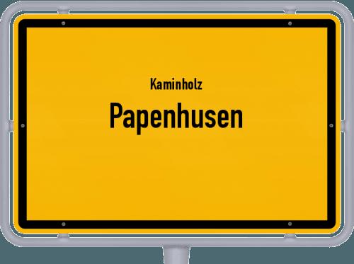 Kaminholz & Brennholz-Angebote in Papenhusen, Großes Bild