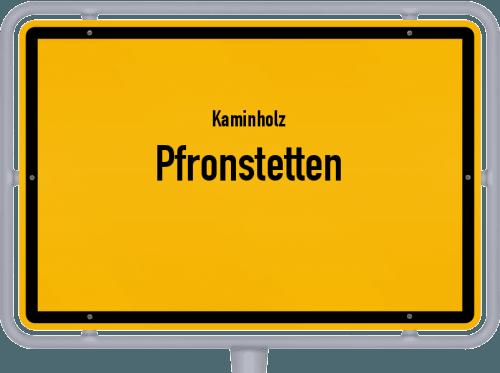 Kaminholz & Brennholz-Angebote in Pfronstetten, Großes Bild