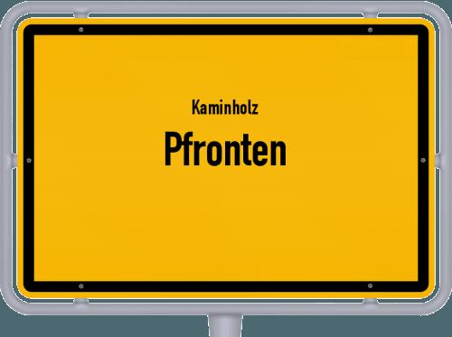 Kaminholz & Brennholz-Angebote in Pfronten, Großes Bild