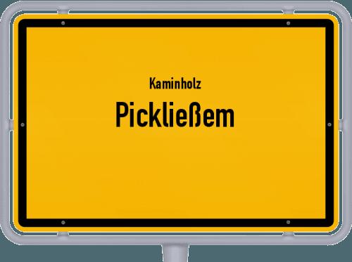 Kaminholz & Brennholz-Angebote in Pickließem, Großes Bild
