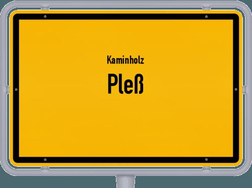 Kaminholz & Brennholz-Angebote in Pleß, Großes Bild