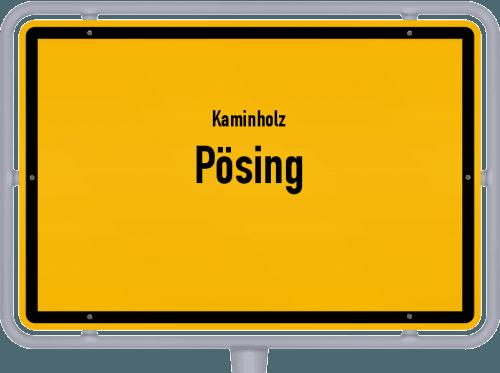 Kaminholz & Brennholz-Angebote in Pösing, Großes Bild