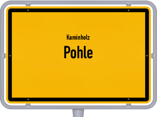 Kaminholz & Brennholz-Angebote in Pohle, Großes Bild
