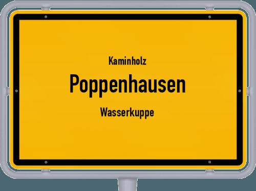 Kaminholz & Brennholz-Angebote in Poppenhausen (Wasserkuppe), Großes Bild