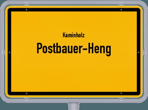 Kaminholz & Brennholz-Angebote in Postbauer-Heng, Großes Bild