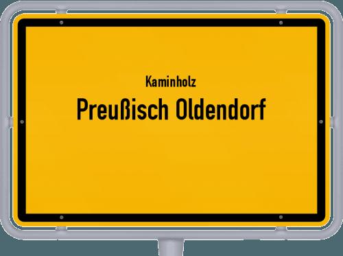 Kaminholz & Brennholz-Angebote in Preußisch Oldendorf, Großes Bild