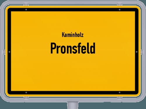 Kaminholz & Brennholz-Angebote in Pronsfeld, Großes Bild