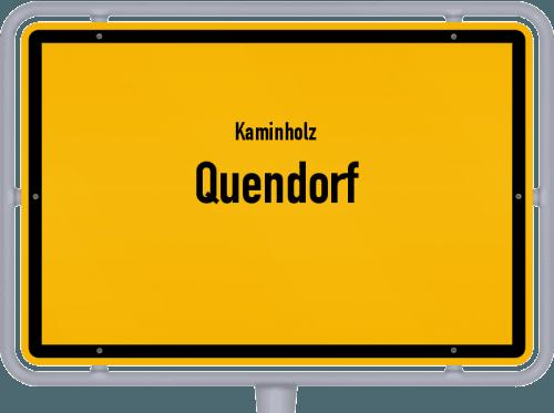 Kaminholz & Brennholz-Angebote in Quendorf, Großes Bild