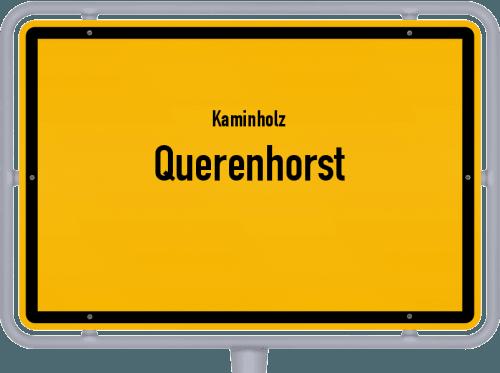 Kaminholz & Brennholz-Angebote in Querenhorst, Großes Bild