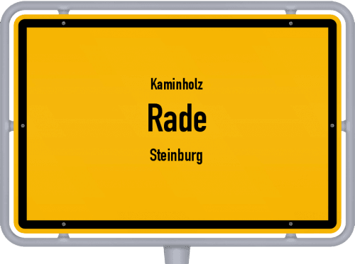 Kaminholz & Brennholz-Angebote in Rade (Steinburg), Großes Bild
