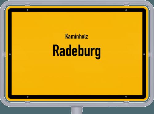 Kaminholz & Brennholz-Angebote in Radeburg, Großes Bild