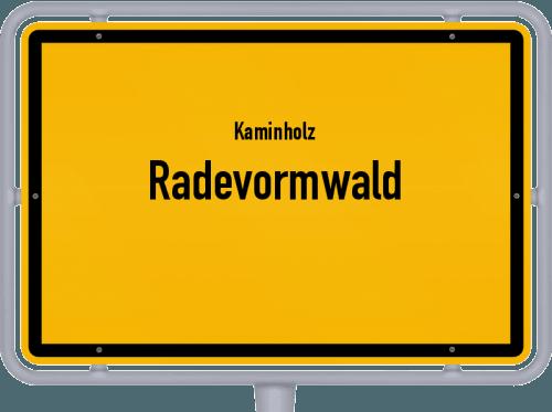 Kaminholz & Brennholz-Angebote in Radevormwald, Großes Bild