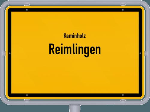 Kaminholz & Brennholz-Angebote in Reimlingen, Großes Bild
