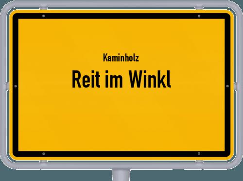 Kaminholz & Brennholz-Angebote in Reit im Winkl, Großes Bild