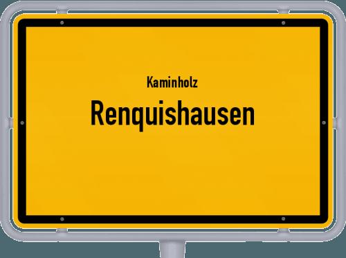 Kaminholz & Brennholz-Angebote in Renquishausen, Großes Bild