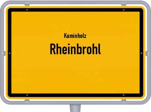 Kaminholz & Brennholz-Angebote in Rheinbrohl, Großes Bild