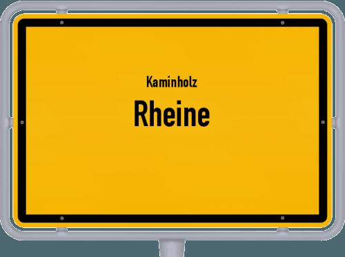 Kaminholz & Brennholz-Angebote in Rheine, Großes Bild
