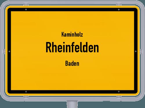 Kaminholz & Brennholz-Angebote in Rheinfelden (Baden), Großes Bild