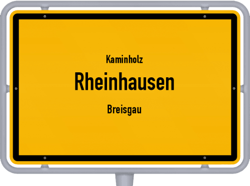 Kaminholz & Brennholz-Angebote in Rheinhausen (Breisgau), Großes Bild