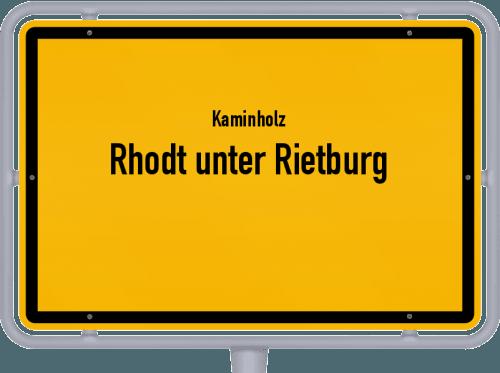 Kaminholz & Brennholz-Angebote in Rhodt unter Rietburg, Großes Bild