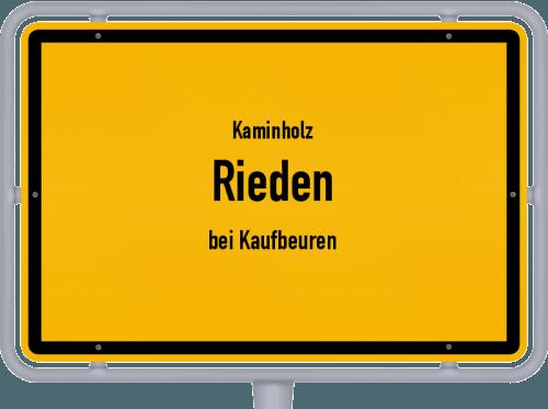 Kaminholz & Brennholz-Angebote in Rieden (bei Kaufbeuren), Großes Bild
