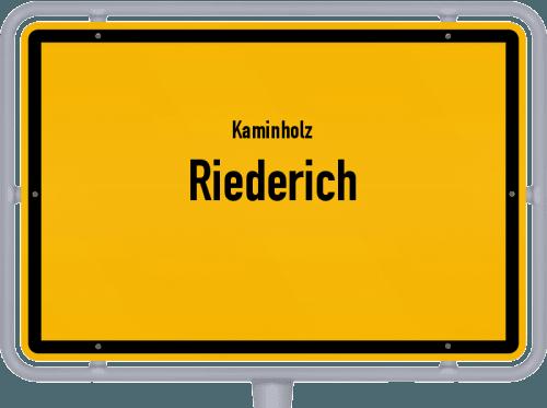 Kaminholz & Brennholz-Angebote in Riederich, Großes Bild