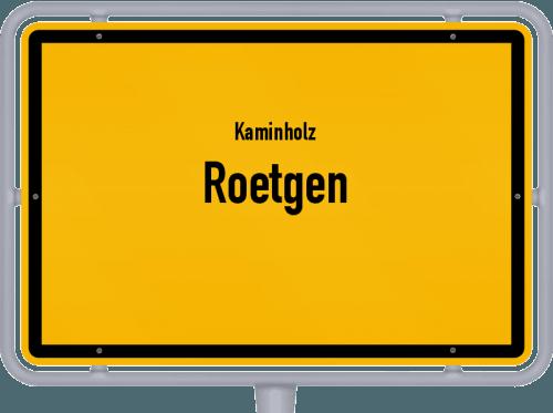 Kaminholz & Brennholz-Angebote in Roetgen, Großes Bild