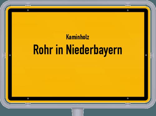 Kaminholz & Brennholz-Angebote in Rohr in Niederbayern, Großes Bild