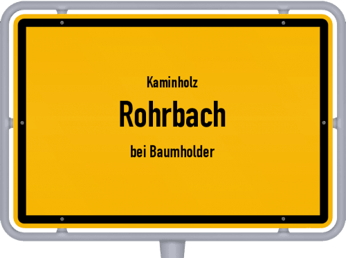 Kaminholz & Brennholz-Angebote in Rohrbach (bei Baumholder), Großes Bild
