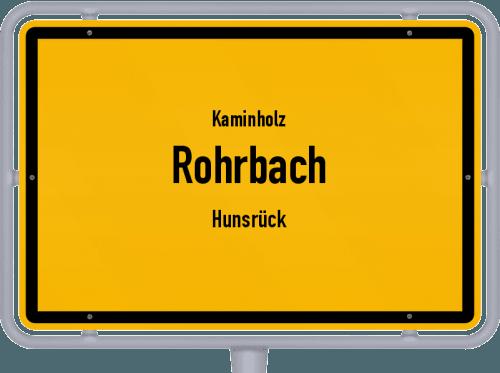 Kaminholz & Brennholz-Angebote in Rohrbach (Hunsrück), Großes Bild