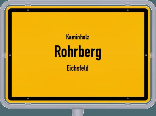 Kaminholz & Brennholz-Angebote in Rohrberg (Eichsfeld), Großes Bild