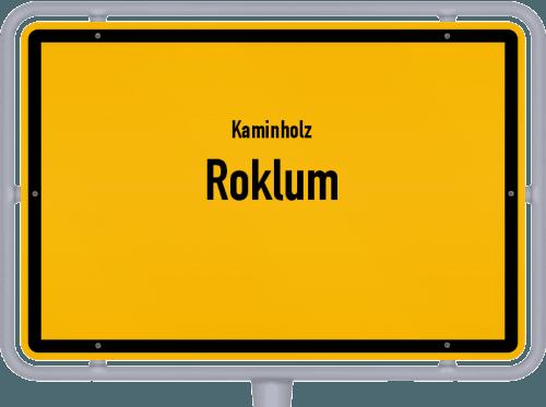 Kaminholz & Brennholz-Angebote in Roklum, Großes Bild
