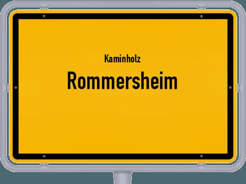 Kaminholz & Brennholz-Angebote in Rommersheim, Großes Bild