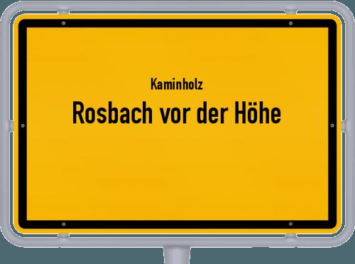 Kaminholz & Brennholz-Angebote in Rosbach vor der Höhe, Großes Bild