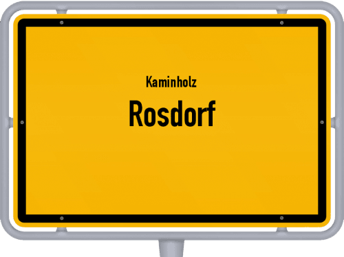 Kaminholz & Brennholz-Angebote in Rosdorf, Großes Bild