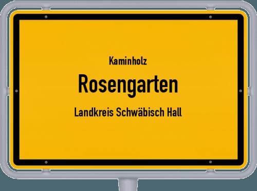 Kaminholz & Brennholz-Angebote in Rosengarten (Landkreis Schwäbisch Hall), Großes Bild