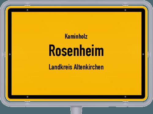 Kaminholz & Brennholz-Angebote in Rosenheim (Landkreis Altenkirchen), Großes Bild