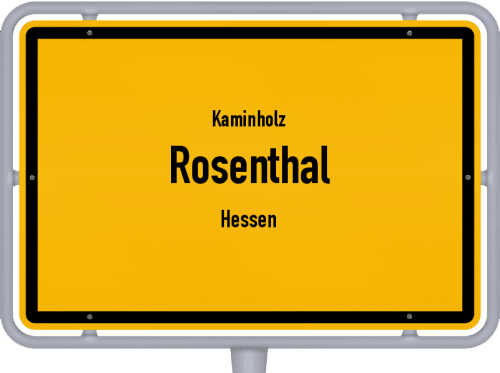 Kaminholz & Brennholz-Angebote in Rosenthal (Hessen), Großes Bild