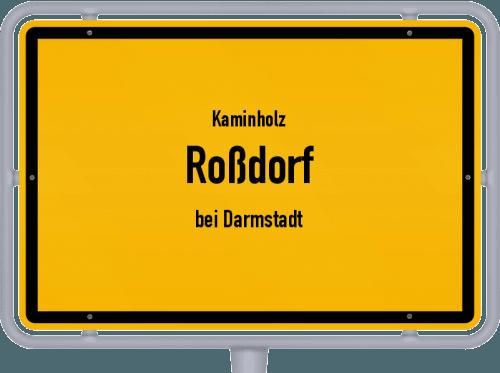 Kaminholz & Brennholz-Angebote in Roßdorf (bei Darmstadt), Großes Bild