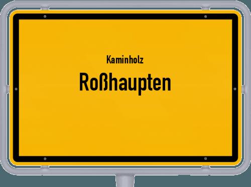 Kaminholz & Brennholz-Angebote in Roßhaupten, Großes Bild